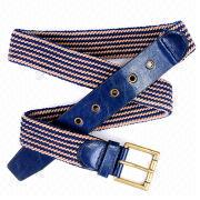 Blue Fabric Belt from China (mainland)