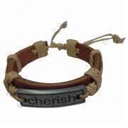 Leather Bracelet from China (mainland)
