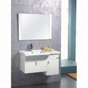 China Bathroom Vanity, Made of PVC, Measures 85x49cm