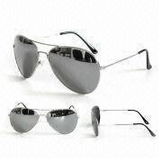 Fashionable Sunglasses with Shiny Black Tips, Suitable for Men, Available in Various Colors