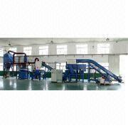 China Wires/Cables Recycling Machine with 300 to 500kg/Hour Capacity Range