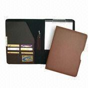 Synthetic Leather File Folder, Customized Designs are Accepted from Beijing Leter Stationery Manufacturing Co.Ltd