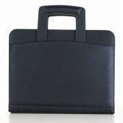 Synthetic Leather Briefcase with Handle from Beijing Leter Stationery Manufacturing Co.Ltd