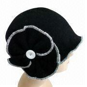 Women' Wool Knitted Hat from China (mainland)