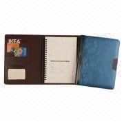 Notebook with PU Leather Cover, 26 Rings Binding from Beijing Leter Stationery Manufacturing Co.Ltd