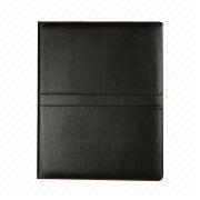 Synthetic Leather File Folder, Different Cover Colors are Available from Beijing Leter Stationery Manufacturing Co.Ltd