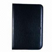 Synthetic Leather File Folder, Metal Binder Inside Cover from Beijing Leter Stationery Manufacturing Co.Ltd