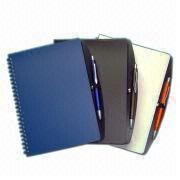 Notebook, PP Board Cover, Different Colors are Available from Beijing Leter Stationery Manufacturing Co.Ltd