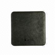 Leather Mouse Pad, Different Sizes are Available from Beijing Leter Stationery Manufacturing Co.Ltd