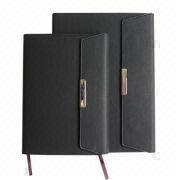 Notebook, Made of PU/PVC Leather, Available for Various Colors from Beijing Leter Stationery Manufacturing Co.Ltd