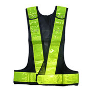 Black Safety Vest, Different Sizes and Patterns Available
