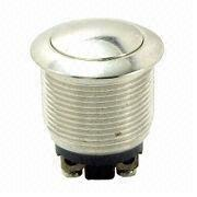 Push Switch with 8A/125V AC and 4A 250V AC Rating