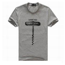 La camiseta comprimida promocional de los hombres, ajuste de moda, modelos modificados para requisitos particulares de los colores aceptados