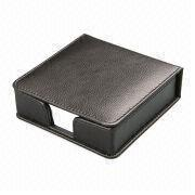 PU Memo Pad Holder, Customized Sizes, Colors and Designs are Accepted