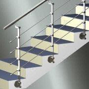 China Stainless Steel Railing With Tube/Rod, Ideal For Stairs, Balconies  And Terraces