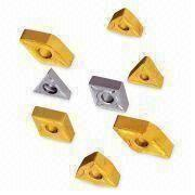 Tungsten Carbide Inserts/Cemented Carbide Inserts with CVD/PVD Coating and Nice Toughness/Strength
