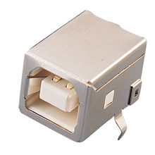 USB Connector B Type, Receptacle Right Angle from Chyao Shiunn Electronic Industrial Ltd