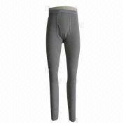 Men's waffle long johns from China (mainland)