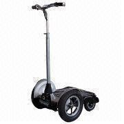 Four Wheels Segway Electric Scooter with 360W Motor Power and 300 Cycles Battery Lifespan