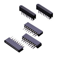 DIP FPC Connectors for 1.00mm/.039-inch Non-ZIF Type Dual Beam Contact Style from Chyao Shiunn Electronic Industrial Ltd