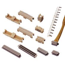 Wafer Connector for 1.25mm (.049 Inches) Crimp Style Connectors, SMT, Double Row from Chyao Shiunn Electronic Industrial Ltd