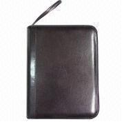 Synthetic Leather Briefcase with Strip, Comes in A4 Size from Beijing Leter Stationery Manufacturing Co.Ltd