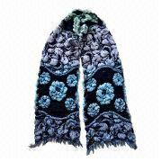 China Scarf, Made of 100% Polyester