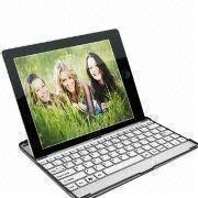 aa147514e36 China Aluminum Case Wireless Bluetooth Keyboard for iPad 2 and New iPad 3