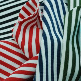 Feeder Stripe Jersey Fabric
