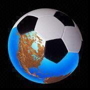 Hong Kong SAR Balón de fútbol profesional cosido a máquina, hecho del PVC, con 1 a 2 capas