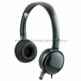 Headband Style Hi-fi Headphones with Binaural Noise Cancelling and Flexible Frame from Wealthland (Audio) Limited