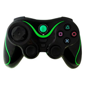 Wireless Gamepad with 12 Analog Buttons and Special Turbo Feature