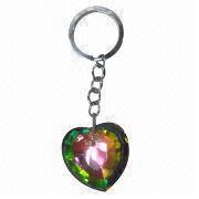 Crystal Heart Keychain from China (mainland)