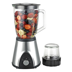 Mini Blender with Stainless Steel Blades and 300W Power