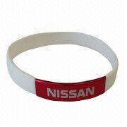 Silicone wristband from China (mainland)