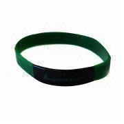 Silicone Wristband from China (mainland)