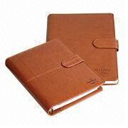 Notebook with High Grade Leather Cover, Customized Designs are Welcome, Handmade from Beijing Leter Stationery Manufacturing Co.Ltd