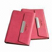 Leather Notebook, A4 Size, Elegant and Vintage, Suitable for Office from Beijing Leter Stationery Manufacturing Co.Ltd