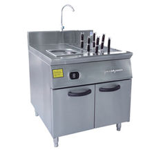 12kW 380V Western Kitchen Equipment, Heater for Soup, Eco-friendly