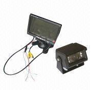 Rear-view Backup System 7-Inch TFT LCD Monitor Color CCD Camera IR Waterproof IP66 from China (mainland)