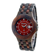 Custom Logo Watches 100% Natural Wood Watches Bico from China (mainland)