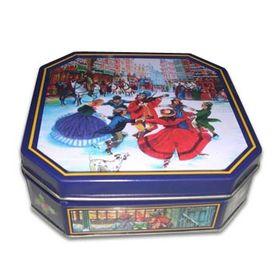 Octagonal Tin Can from China (mainland)