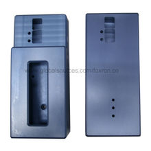 Aluminum box with blue anodizing Manufacturer