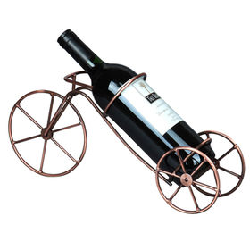 Fashionable Stainless Steel/Metal Wine Holder for Bars, Hotels, Restaurants and Family Uses