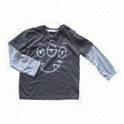 Children's Long-sleeved T-shirt from China (mainland)