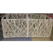 Abaca weave basket from Philippines