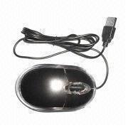 China Mouse with Ergonomic Design and Comfortable Control, Easy Control on Most Surface