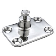 Stainless Steel 4-hole Side Mount Deck Hinge from Taiwan