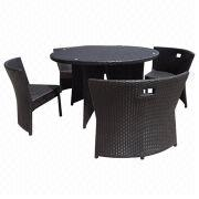Outdoor Dining Table and Chairs from China (mainland)