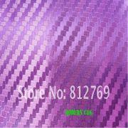 Wholesale wholesale high quality 1.52 x 30m 3d carbon fiber purple chrome car vinyl wrap film practicable car, wholesale high quality 1.52 x 30m 3d carbon fiber purple chrome car vinyl wrap film practicable car Wholesalers